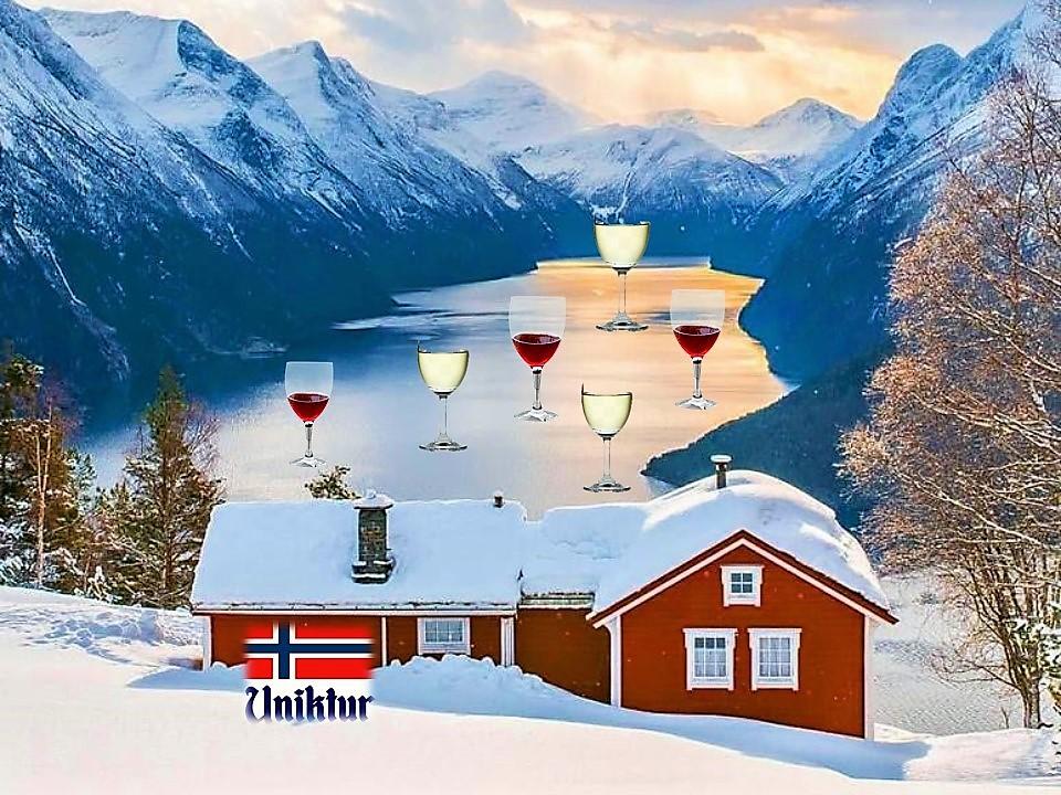 Норвегия, вино/Uniktur