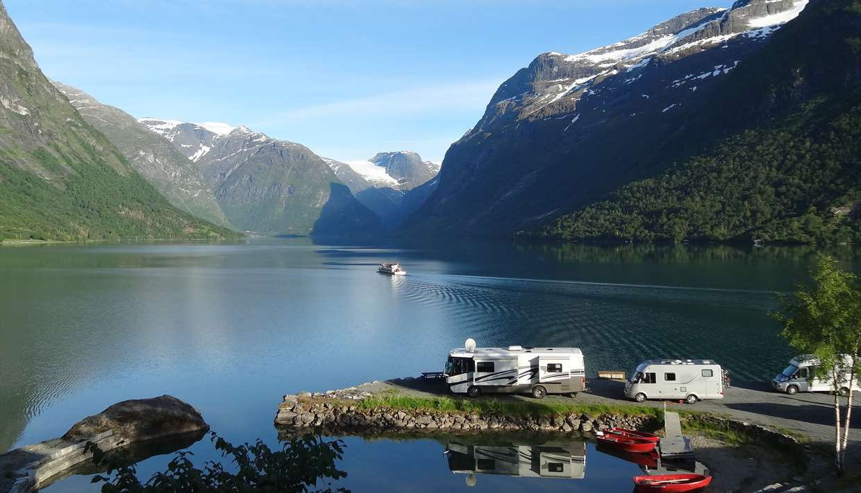 camping fjord