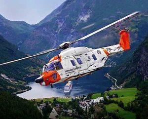 helikopter geiranger