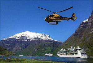 helikopter-sightseeing Geiranger