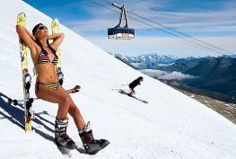 лыж загар