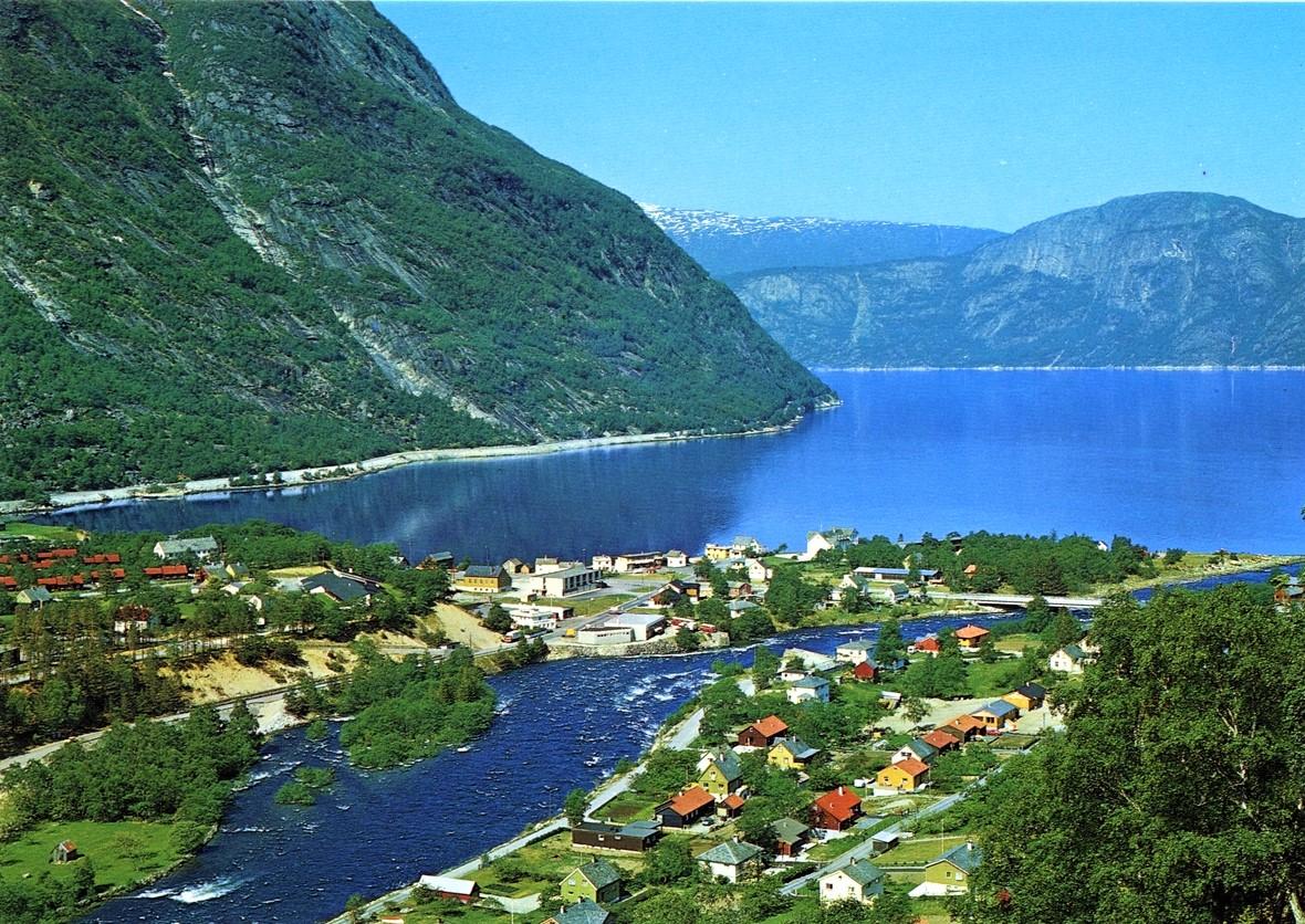 Эйдфьорд Норвегия, экскурсия с Uniktur